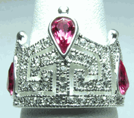 Outstanding Teen Crown Ring